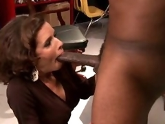 Breasty Dark brown MILF Veronica Avluv Goes Interracial Until Squirting