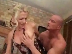 German Milf forced into sex by younger chap