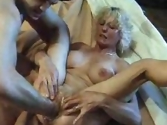Wet older pussy slowly fisted open