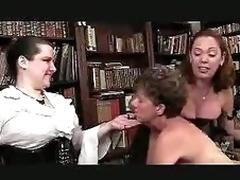 Aged Lesbian Paddling