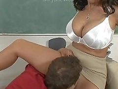 I fucked my large ass teacher