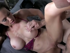 Johnny Sins is having a good time sucking and pounding sexy policewman McKenzie Lees beaver