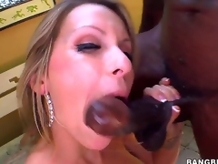 Attention everyone, weve got a recent candidate for the shlong engulfing whore of the week! Courtney Cummz is one eager bitch who conquers a huge black cock, so hats off to her!