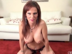 Sexy Jennifer Dark fondles her big fake tits