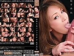 Nearly 2 hours of wild blowjobs in front of a black background with 2 penetration cowgirl and missionary scenes featuring semi mature actress Sumire Kisaki. The oral-job begins with temptation, but eventually Sumire becomes quite devious.