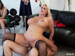 Nasty slut can't live without being screwed from behind, ass up hide and wide