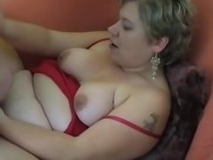 Heavy non-professional Milf homemade hardcore action