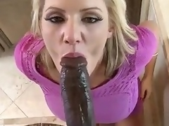 Huge black cock for gorgeous milf Zoey Holiday