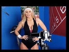 Julia Ann is a hyper fitness freak putting jointly an edgy workout DVD. That Honey has not quite anything this babe needs: beautiful bouncing love muffins, an astounding firm body, a vigorous routine, but still lacks a certain `je ne-sais-quoi` to make it complete. One Time this babe spots Tony Ribas in the gym, this babe comes up with a fresh idea for the DVD that all sexually active chicks can have a joy by putting her mambos into act and sweating herself into a hawt frenzy!